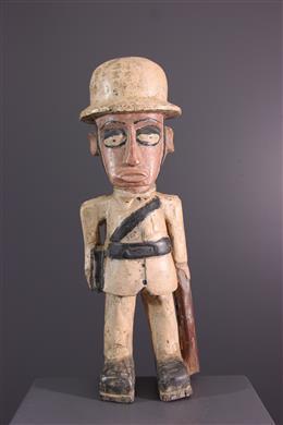 Statue Colon - Art africain