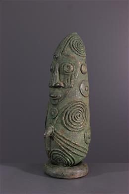 Bronze Mambila - Art africain