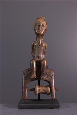Poulie de métier à tisser Baule, Baoule
