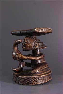 Appuie-tête Luba - Art africain