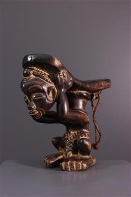 Appui-tête Lulua - Art africain