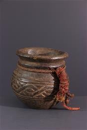 Pots, jarres, callebasses, urnesRécipient Kuba