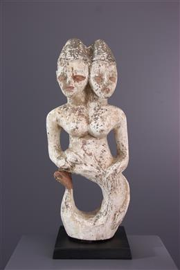 Statue Ewe - Art africain