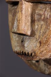 Masque africainMasquette Kwese