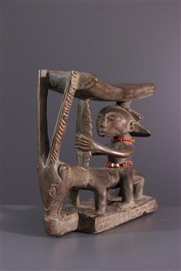 Appuie-tête Shankadi - Art africain