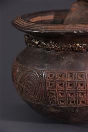 Pots, jarres, callebasses, urnesPot Tschokwe