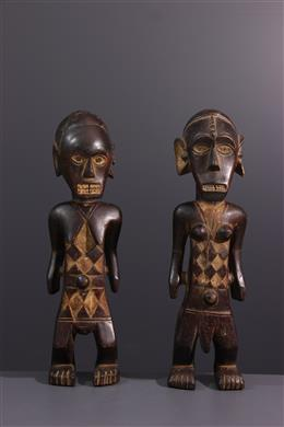 Statues Ngbandi - Art africain