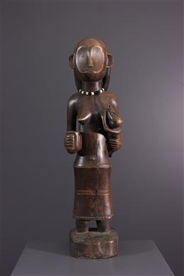 Statue OviMbundu - Art africain