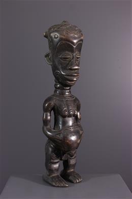 Statuette Lulua - Art africain