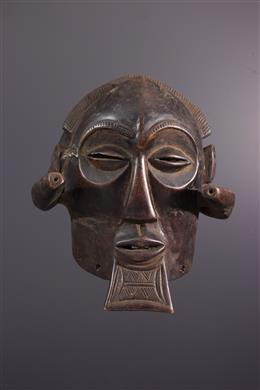 Masque Luba Mukisi - Art africain