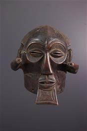 Masque africainMasque Luba Mukisi