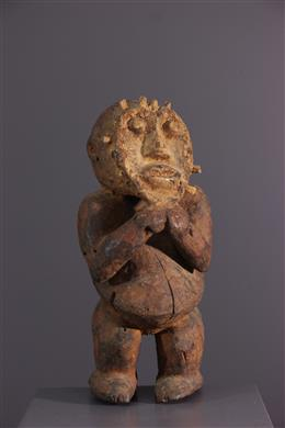 Statue Mambila - Art africain