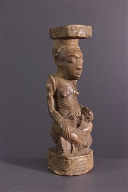 Statue Kuba - Art africain