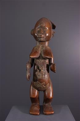 Statue Bwende - Art africain
