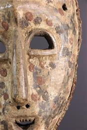 Masque africainMasque Ngbandi