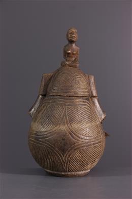 Gourde Kongo - Art africain