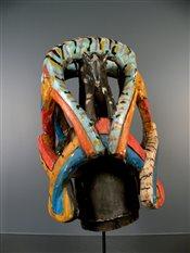 Masque africainMasque Yoruba Gelede