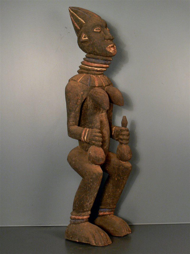 Statue reine Bangwa (3657) - Statues africaines Bangwa - Art africain