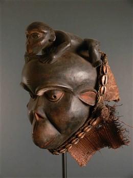 Masque céréomoniel Bulu