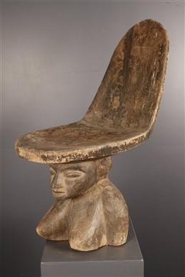 Chaise de dignitaire Lobi