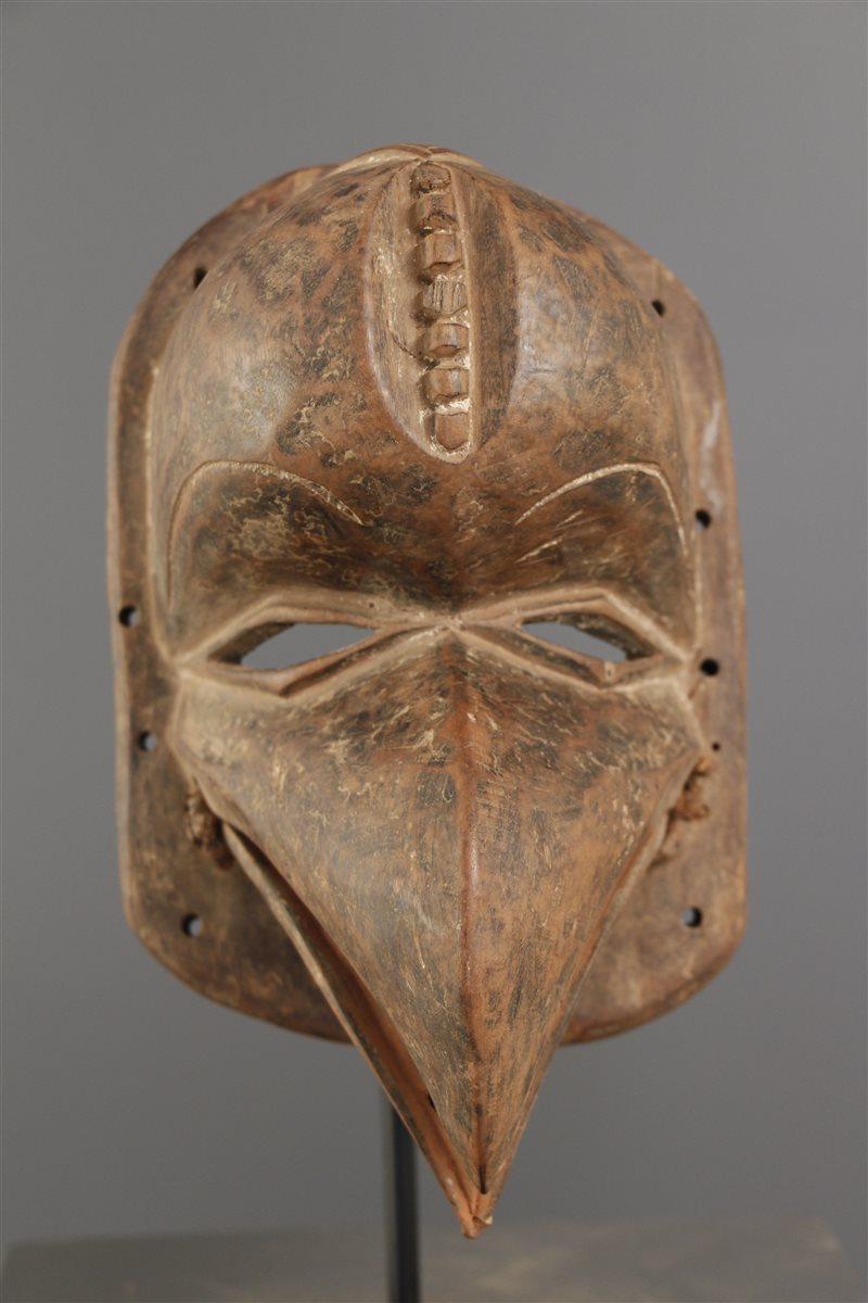 masque africain oiseau