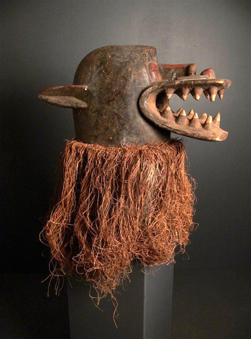 masque africain porte malheur