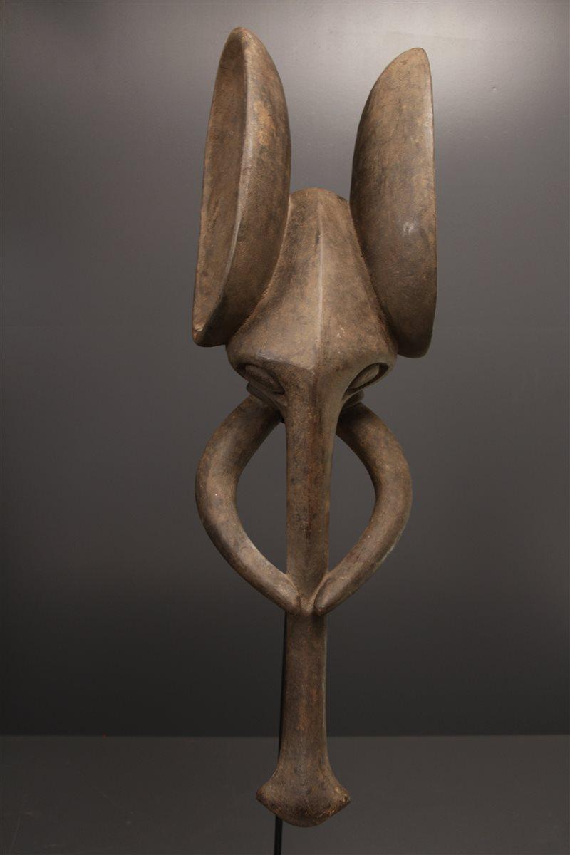 masque africain elephant