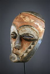 Masque africainMasque Pende Kindombolo