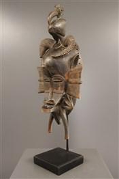 Masque africainMasque féminin Kpelyé