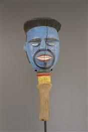 Art africain - Marionnettes - Tête Kyebe-Kyebe marionnette Kouyou