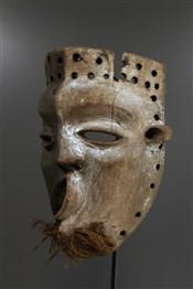 Masque africainMasque Pende malade