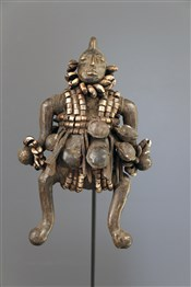 Art africain - Poupées - Poupée en bronze Namji