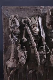 bronze africainGrande plaque bronze royale Benin Bini Edo