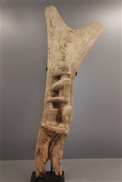 Art africain - Poteau - Grand poteau de Toguna Dogon