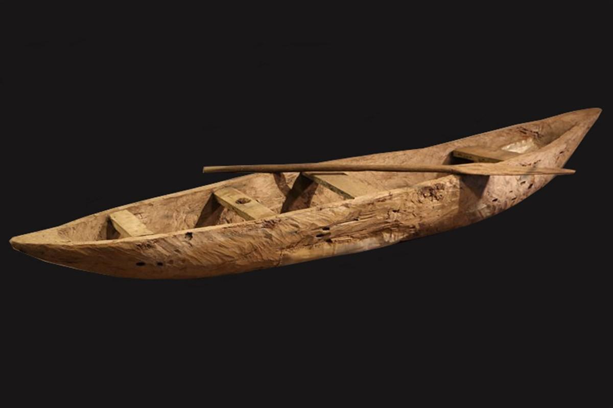 Pirogue de pêcheur Guinée Equatoriale - art africain