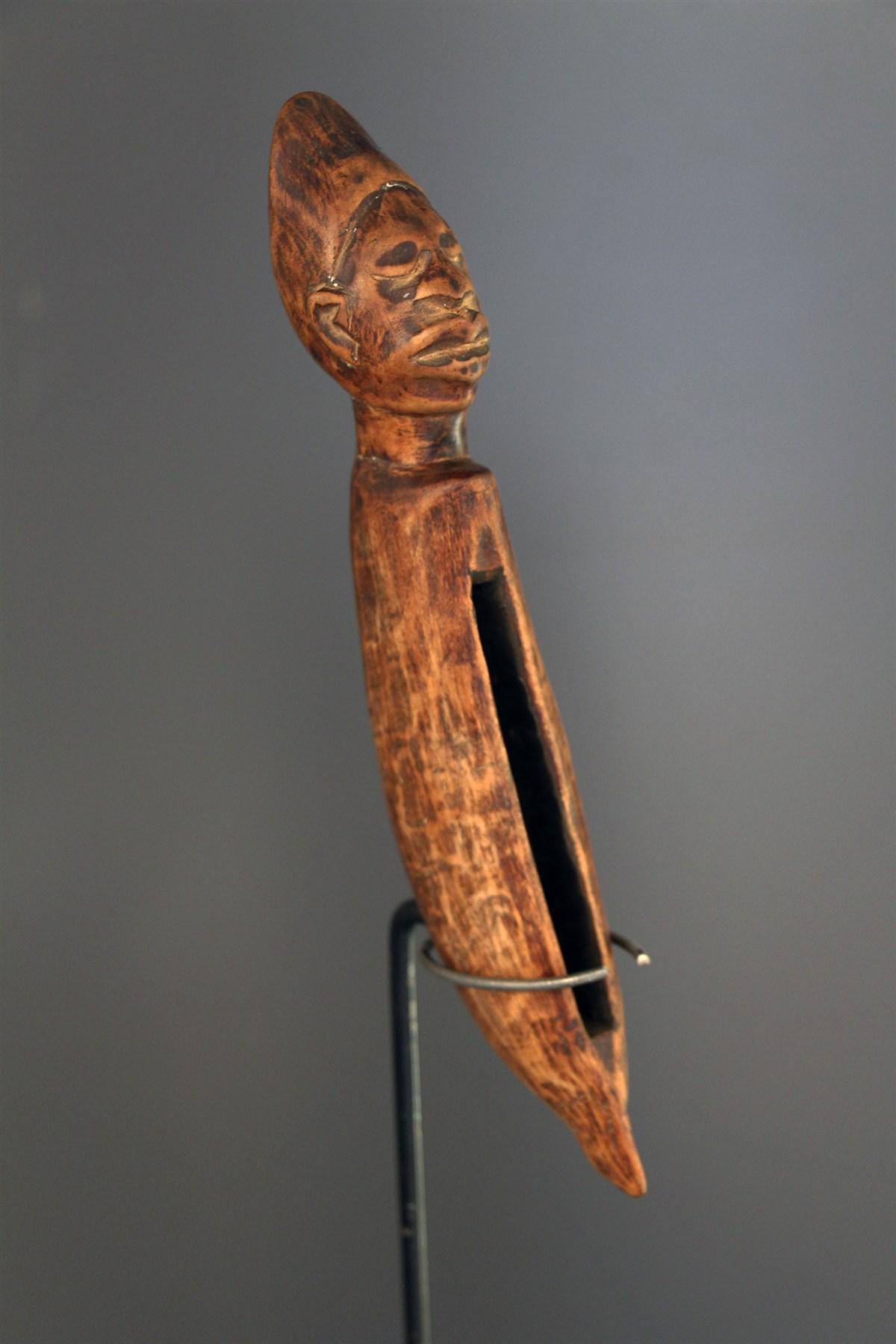 Tambour à fente Kongo - Art africain