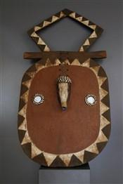 Masque Baoulé Goli Kpan Pre