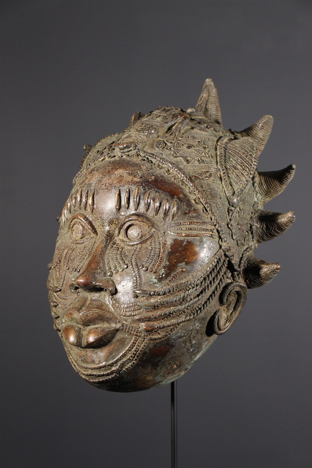 masque africain du benin