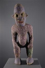 Art africain - Statues - Statue perlées Bamiléké