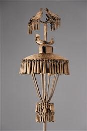 FétichesCouple d autels des ancêtres Asen Fon
