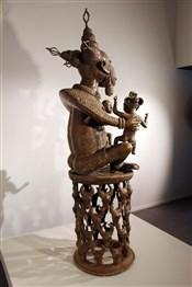 bronze africainGrande maternité Tikar