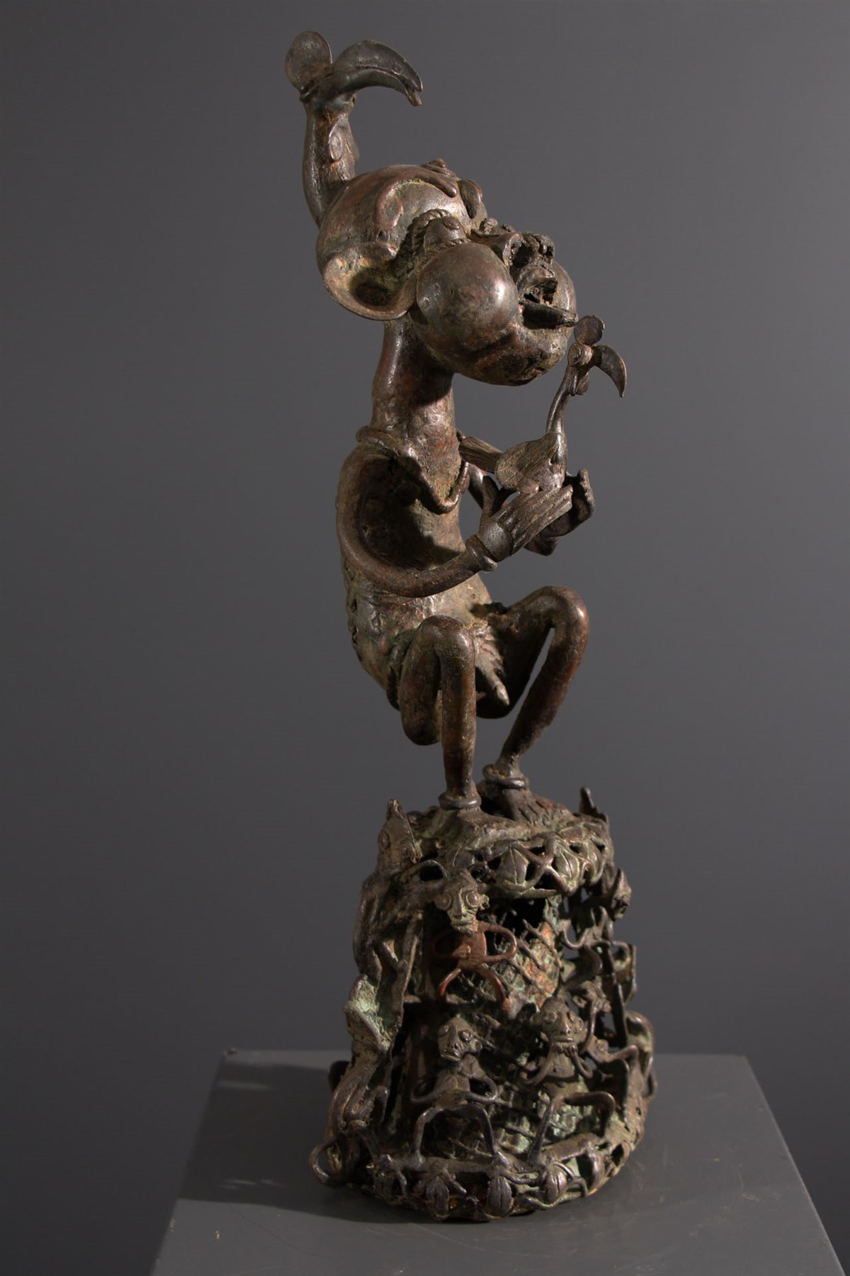 art africain en bronze
