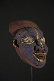 Art africain - Masques - Masque perlé Bamoun