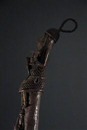 bronze africainPaire grandes têtes d autel Benin Bini Edo
