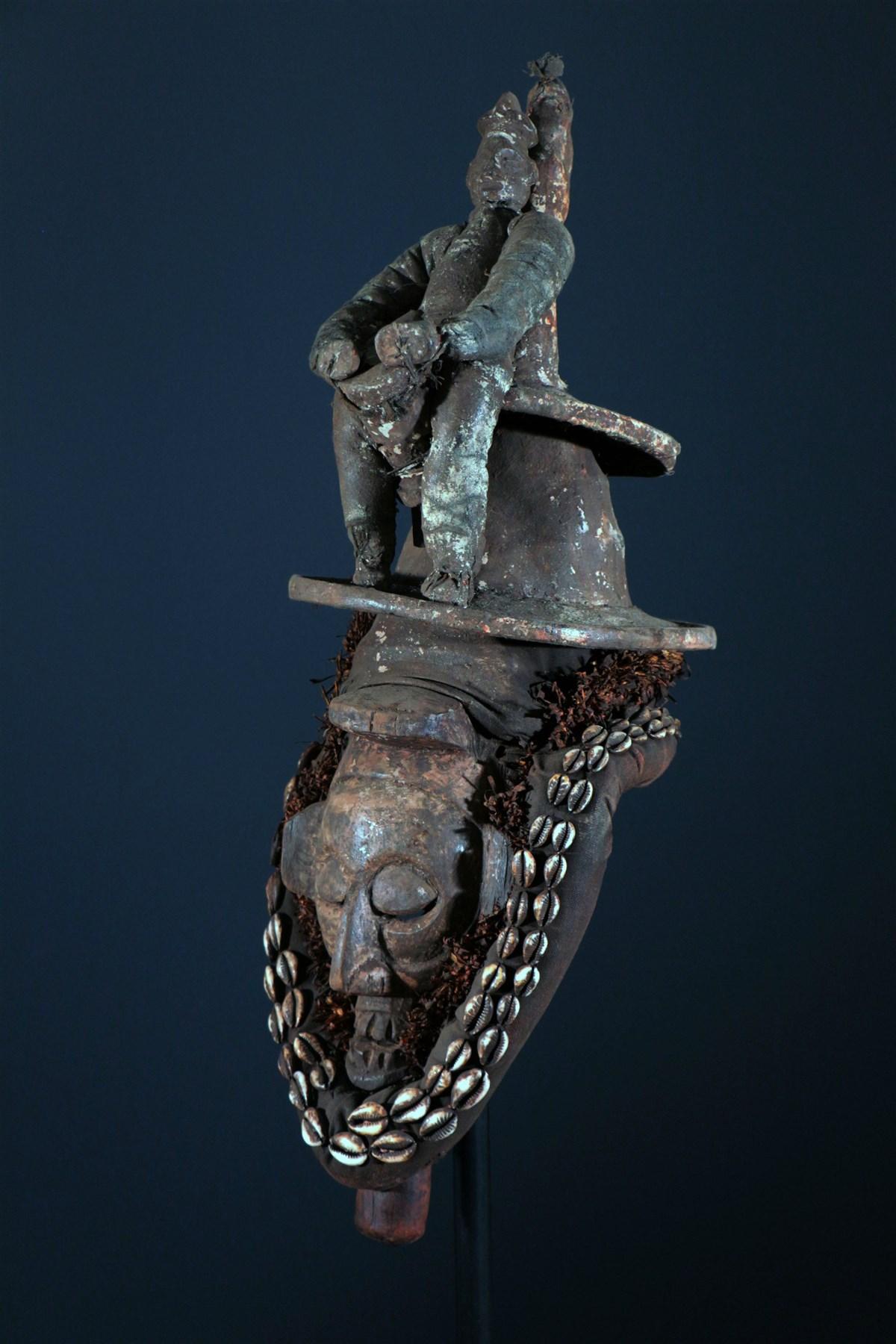 Masque Yaka Kholuka - Art africain