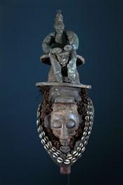 Masque africainMasque Yaka Kholuka