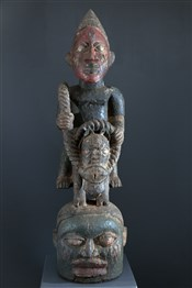 Masque Yoruba Gelede