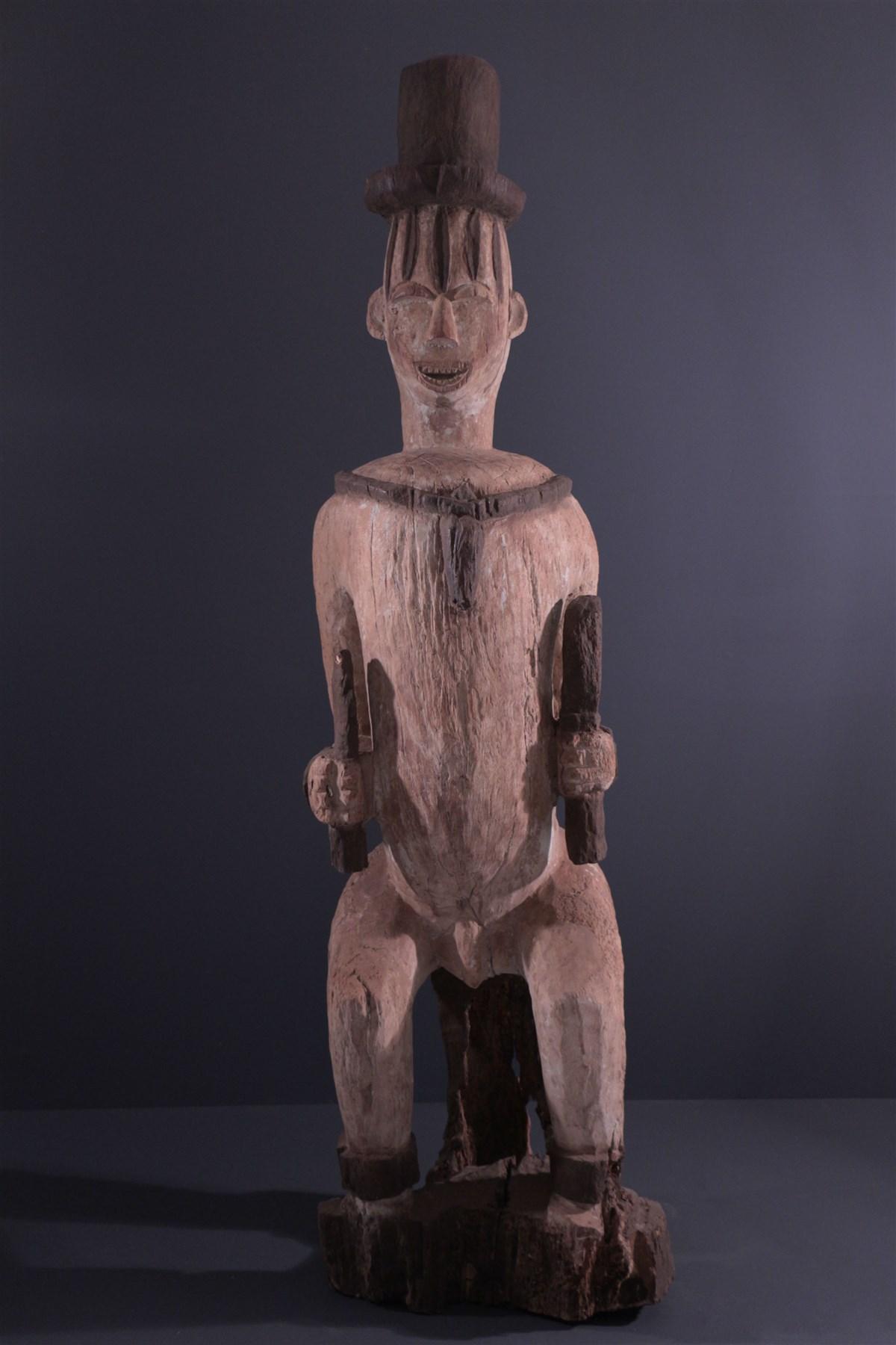 Grande statue Urhobo Owedjebo  - Art africain