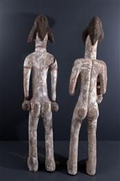 Statues africainesCouple de grandes statues Punu