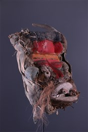 Masque africainMasque Wobé-Guéré